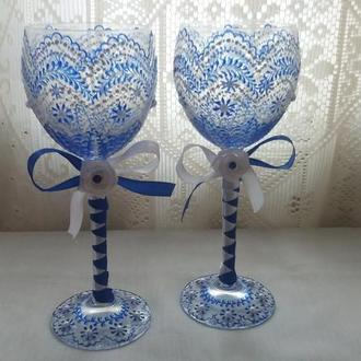 Праздничные бокалы