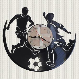 часы настенные футбол