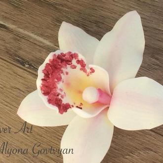 Заколка «Орхидея»