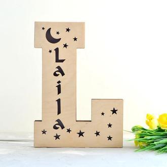 Ночник с именем ребенка Laila