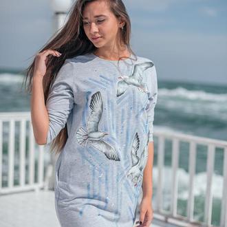 Сукня з чайками