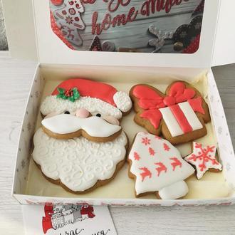 Набор Пряников Санта с подарком