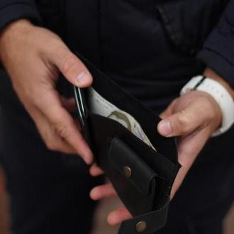 """Шкіряний гаманець """"Смарт"""""""