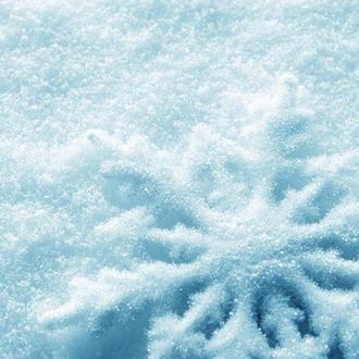 Виниловый фотофон снежинка