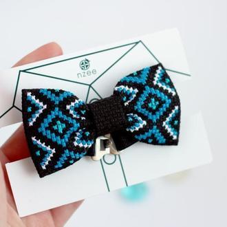 Дитячий метелик / Вишитий метелик / Краватка-метелик