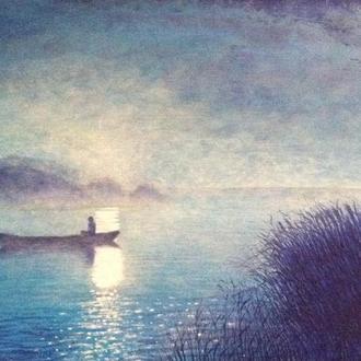 """Картина """"Риболовля у світлі місяця"""""""