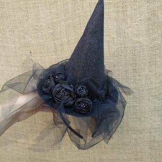Шляпка ведьмы к Хеллоуину