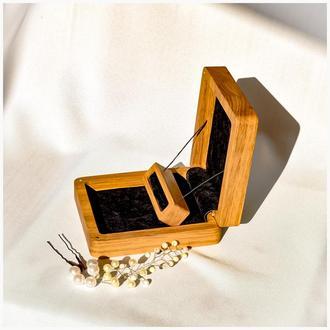 Шкатулка на свадьбу, для обручальных колец.
