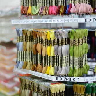 Мулине хлопковое (нитки для вышивания), art.117 DMC
