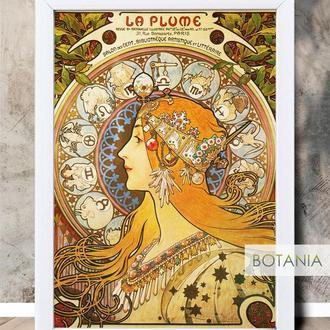 """Постер в белой рамке """"Belle Époque"""" 30*40 см"""