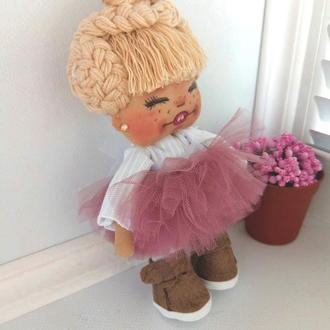 Кукла Смешинка интерьерная