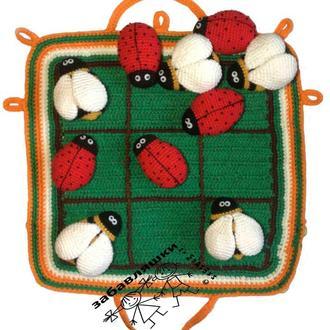 Вязаная игра крестики-нолики