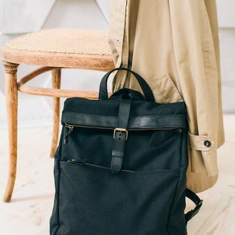 Подарок для путешествия, универсальный рюкзак на каждый день из кожи, из кордуры(Ламбер)