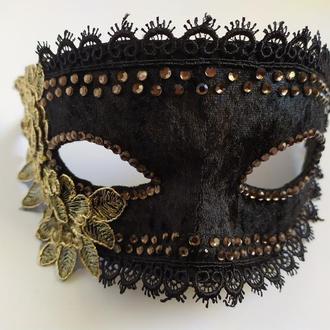 Карнавальная маска «Графиня»