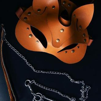 Кожаная маска от мастерской Wild