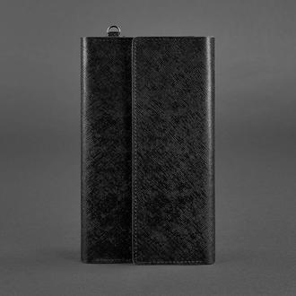 Кожаный клатч-органайзер (Тревел-кейс) 5.1 черный Blackwood