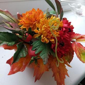 интерьерный букет( золотая осень)