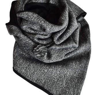 Тёплый шарф ,,Эдинбург,, шарф снуд