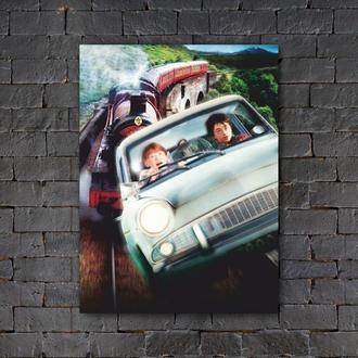 Постер (картина) табличка — Гарри Поттер и Рон Уизли