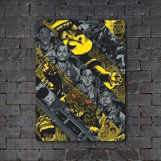 Постер (картина) табличка — GHOSTBUSTERS