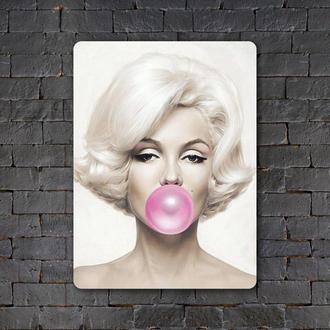 Постер (картина) табличка — Мэрилин Монро