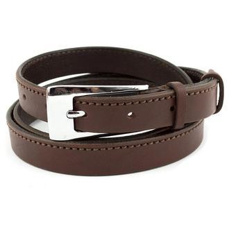 Женский кожаный ремень KB-20-01 brown (2 см)