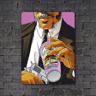 Постер (картина) табличка — Криминальное чтиво