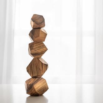 Тумі іши tumi ishi Туми иши гора камней балансир игрушки дитячі іграшки Дерев'яні камінці
