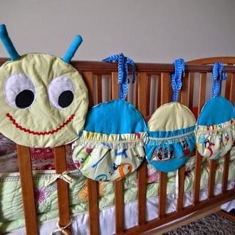 Кармашки на детскую кроватку