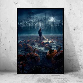 """Постер на ПВХ 3 мм. в раме """"Stranger Things (Очень странные дела) #5"""