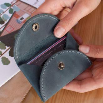 Кожаный кардхолдер женский, чехол для карт, визитница