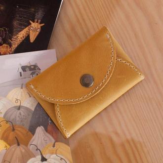 Чехол Кардхолдер для кредитных карт и визиток из натуральной кожи