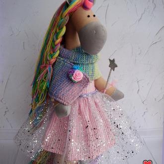 Радужный Единорог, мягкая игрушка