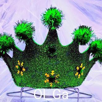 Корона диадема на ободке