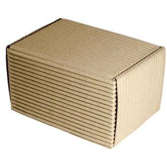 Маленькая коробка из двухслойного гофрокартона 17х12х10 см