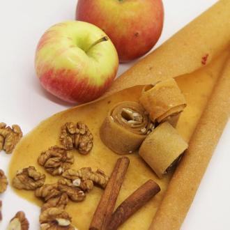 Пастила яблучна з горіхом та корицею (без меду), 100г