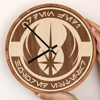 Деревянные часы с гравировкой, Star Wars Звёздные войны, Дарт Вейдер Stormtroopers Штурмовик