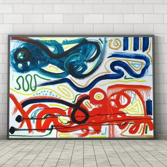 Яркая (картина масло/холст) 60х80х2 см