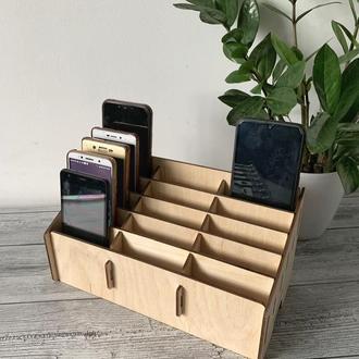 Органайзер для телефонов, смартфонов на 15 ячеек