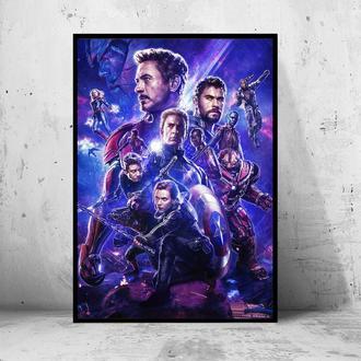 Постер Мстители: Финал / Avengers: Endgame (Марвел / Marvel) #2