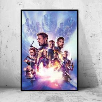 Постер Мстители: Финал / Avengers: Endgame (Марвел / Marvel) #4