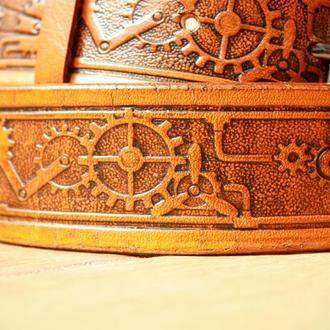 Мужской кожаный ремень, ремень из натуральной кожи, кожаный ремень для мужчин с тиснением в 4 цветах