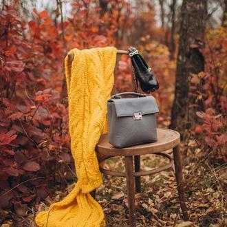 Сумка-портфель из натуральной кожи, стильная кожаная сумка, сумка зі шкіри