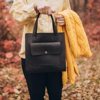 Стильная сумка из натуральной кожи, женская кожаная сумка, шкіряна сумка, крейзи хорс