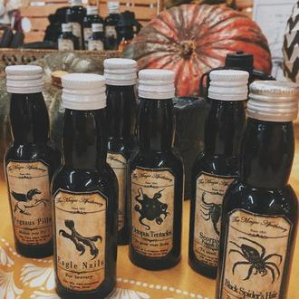 Набор из 6 мини-бутылочек «Аптечное зелье»