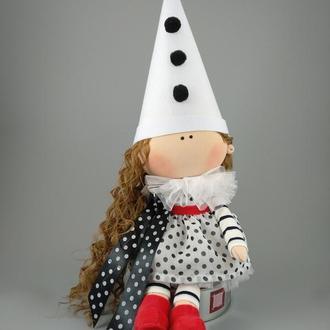 Интерьерная кукла Клоунесса
