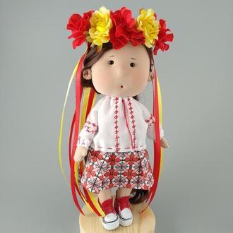 Интерьерная кукла Украиночка