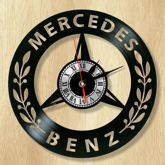 """Настенные часы """"Mercedes Benz"""" - классный подарок для себя и своих близких."""