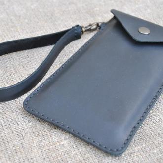 Шкіряний чохол для смартфона H03-0