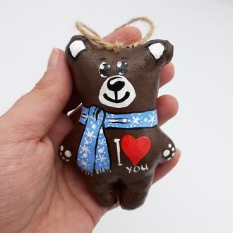 Іграшка Ведмедик I Love You
